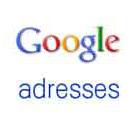 Inscription à Google Adresses