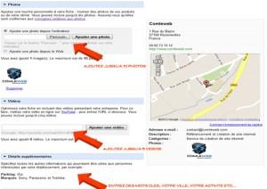 inscription Google Adresses Partie 3