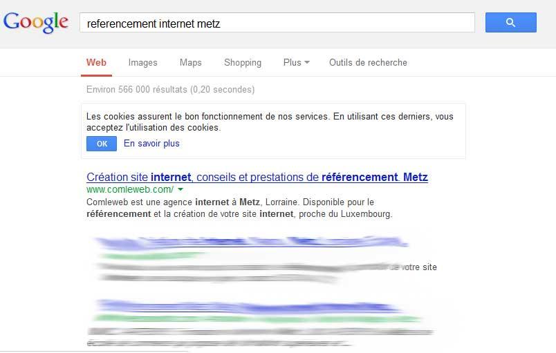 Comleweb, N°1 référencement internet à Metz