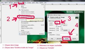 Tutoriel pour réduire les dimensions des photos avec le logiciel GIMP 2